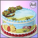 Winnie the Pooh Cake Decoration Kit