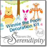 Winnie the Pooh Decoration Kit