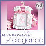 Cute baby themed Photo Frame Favors - Girl / Pink